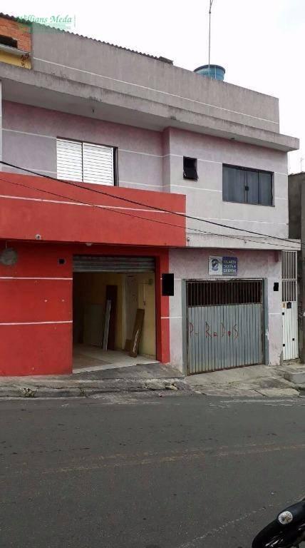 Sobrado residencial à venda, Jardim Rossi, Guarulhos.