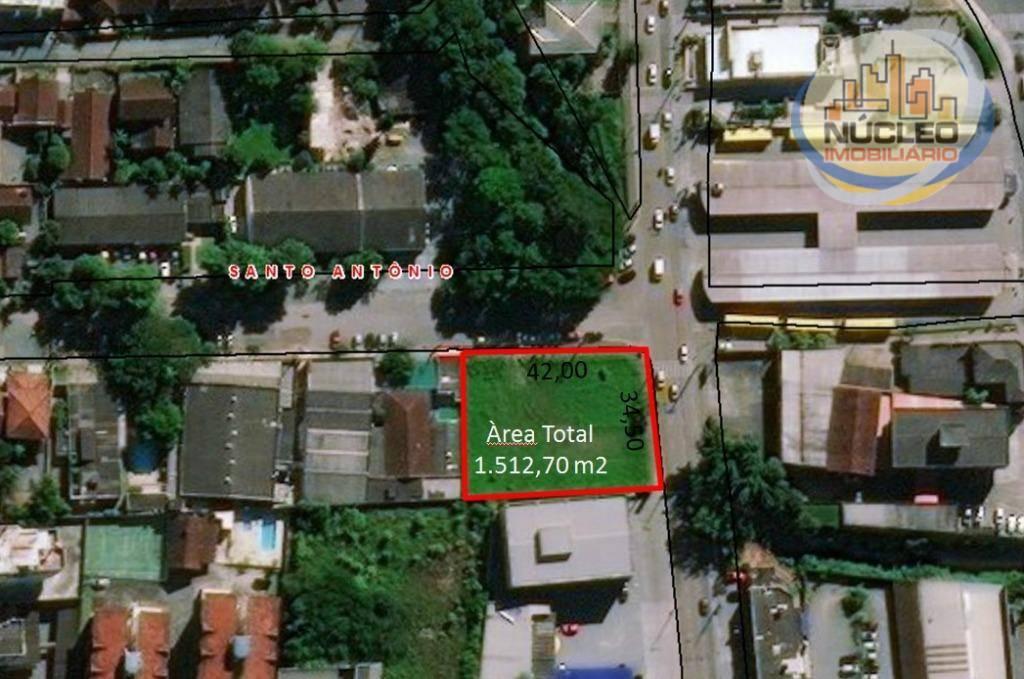 Terreno/Lote à venda, 1.512 m² por R$ 3.500.000,00