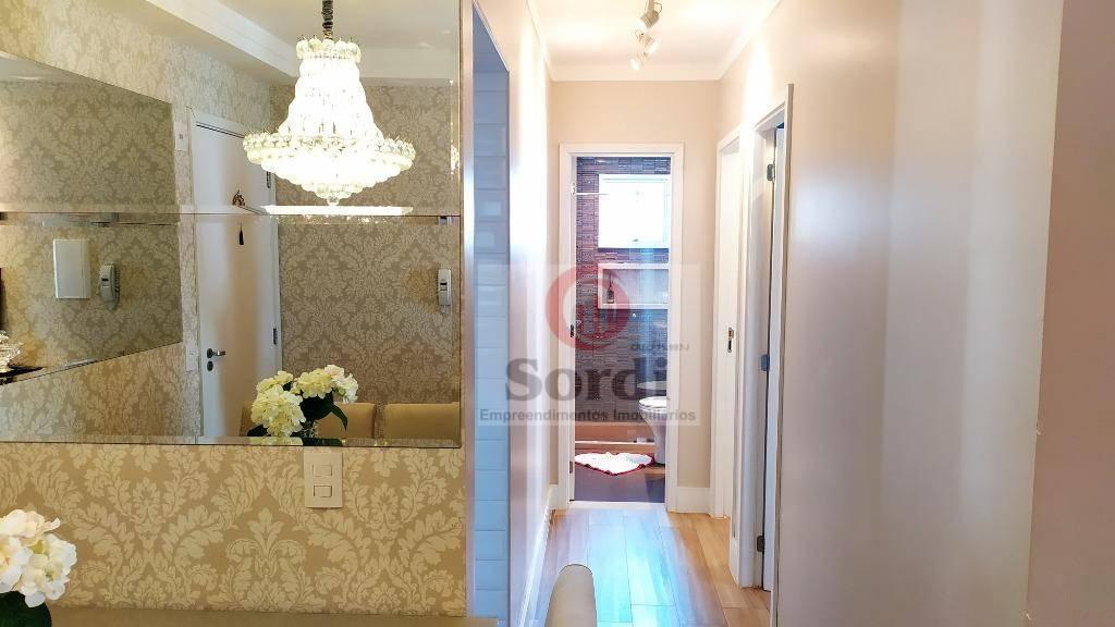 Apartamento com 2 dormitórios à venda, 67 m² por R$ 430.000,00 - Bosque das Juritis - Ribeirão Preto/SP