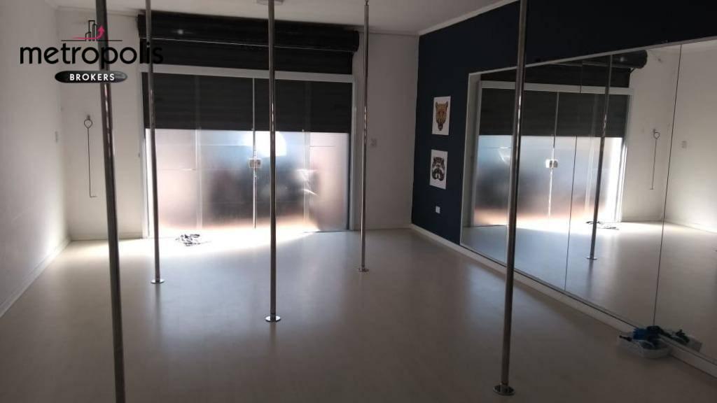 Salão para alugar, 50 m² por R$ 1.650/mês - Bairro Jardim - Santo André/SP