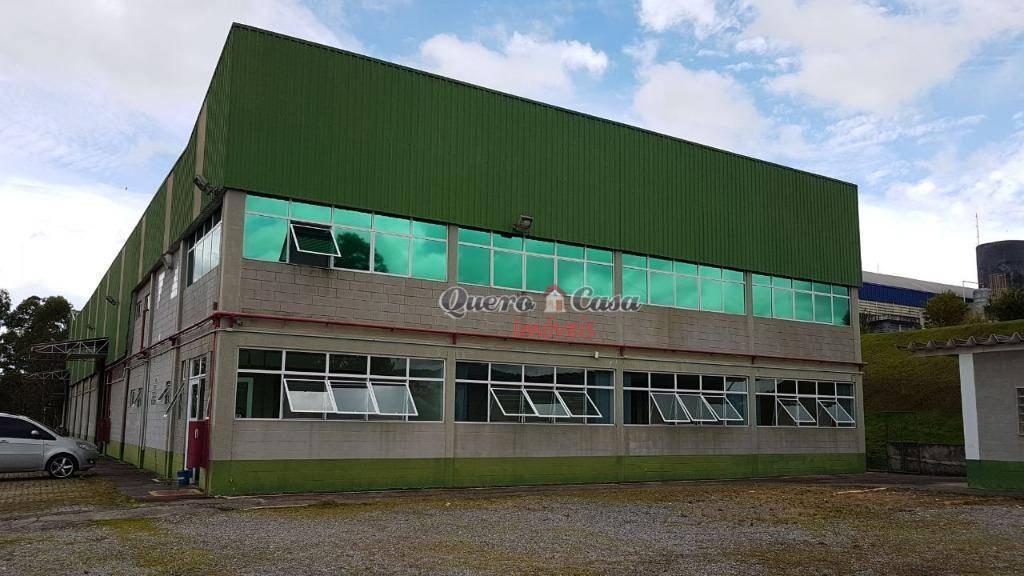 Galpão industrial à venda, Vila Suissa, Mogi das Cruzes.