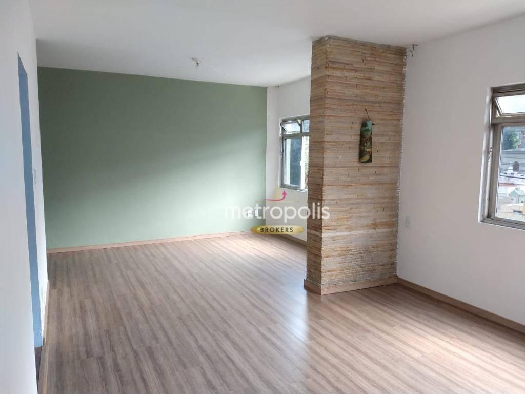 Sobrado com 3 dormitórios para alugar, 110 m² por R$ 2.500,00/mês - Santa Paula - São Caetano do Sul/SP