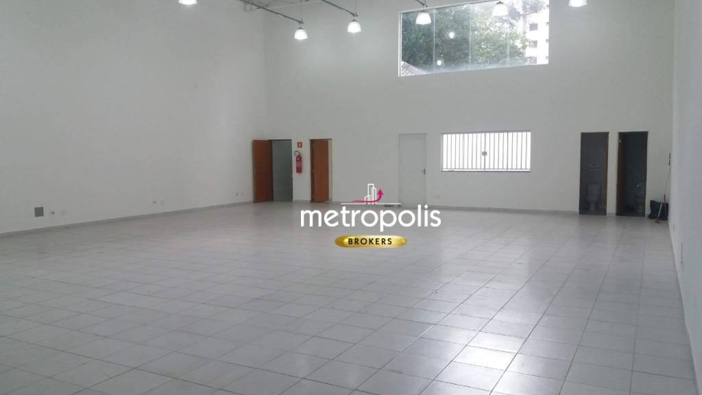 Galpão para alugar, 240 m² por R$ 7.000,00/mês - Barcelona - São Caetano do Sul/SP