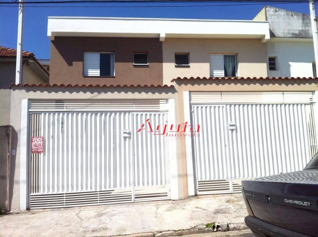 Casa residencial à venda, Vila Clarice, Santo André.