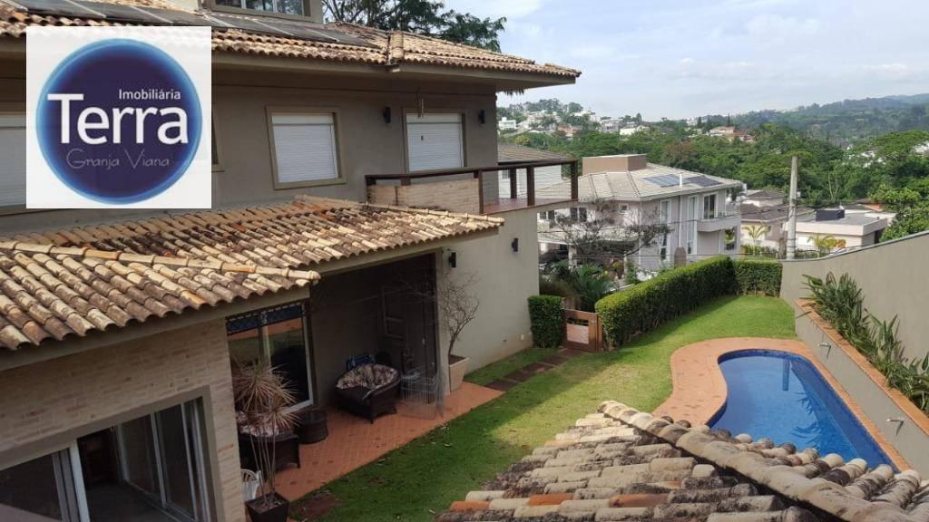 Casa com 4 dormitórios para alugar, 410 m² por R$ 7.500/mês - Golf Village - Granja Viana.
