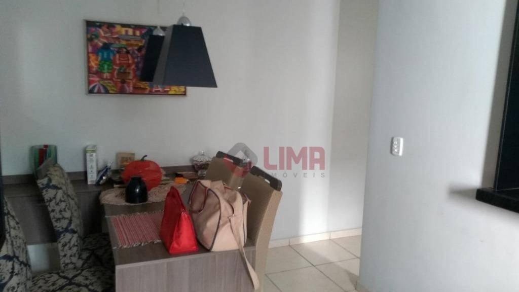 Apartamento com 2 dormitórios para alugar, 58 m² por R$ 750/mês - Jardim Estrela D Alva - Bauru/SP