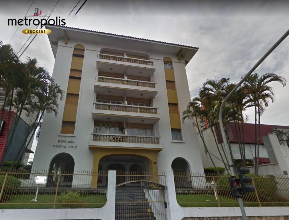 Apartamento com 2 dormitórios para alugar, 80 m² por R$ 1.200/mês - Centro - Santo André/SP