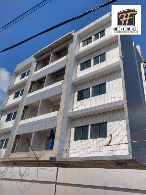 Apartamento com 2 dormitórios à venda, 58 m² por R$ 274.375,00 - Bessa - João Pessoa/PB