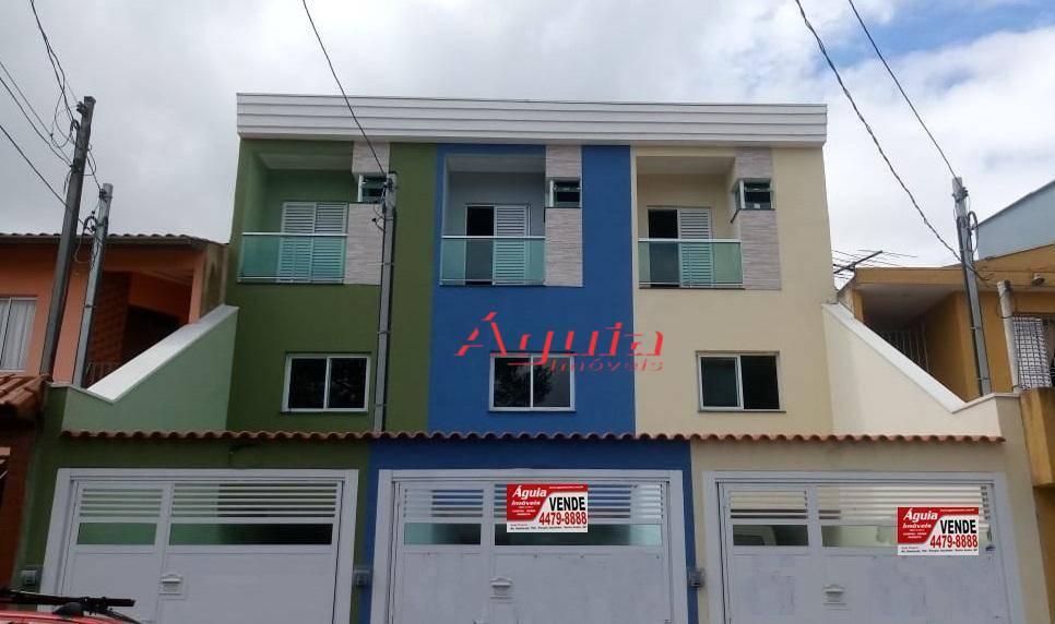 Sobrado com 3 dormitórios à venda, 125 m² por R$ 480.000,00 - Parque Novo Oratório - Santo André/SP