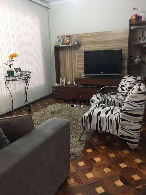 Sobrado com 3 dormitórios à venda, 200 m² por R$ 660.000,00 - Olímpico - São Caetano do Sul/SP