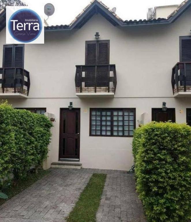 Casa com 2 dormitórios para alugar, 70 m² por R$ 2.450/mês - Vila D Itália - Granja Viana