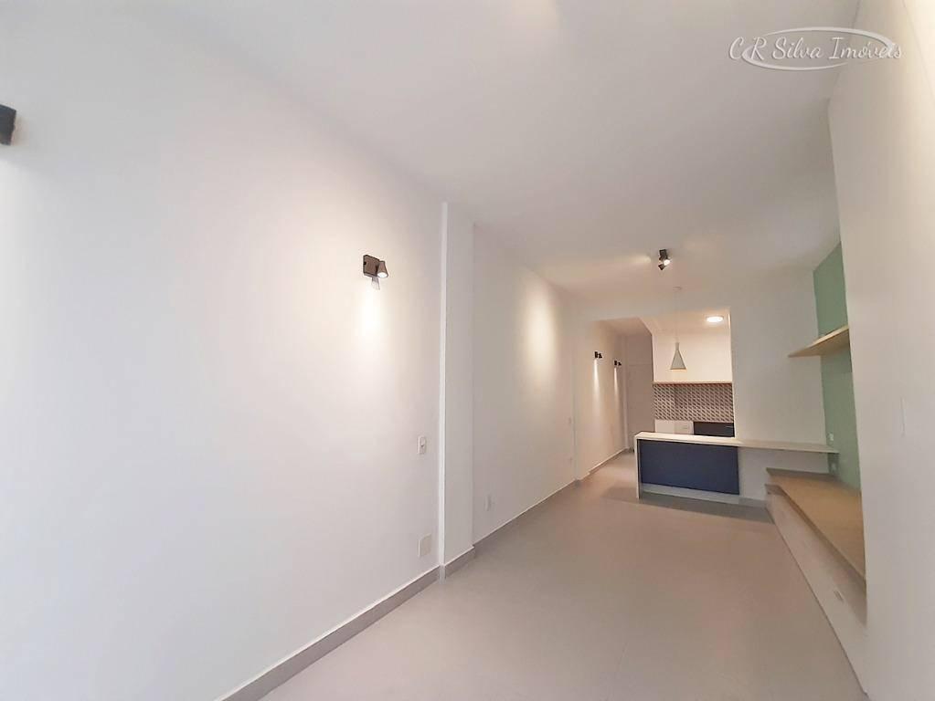 Loft com 1 dormitório à venda, 43 m² por R$ 250.000 - Gonzaga - Santos/SP