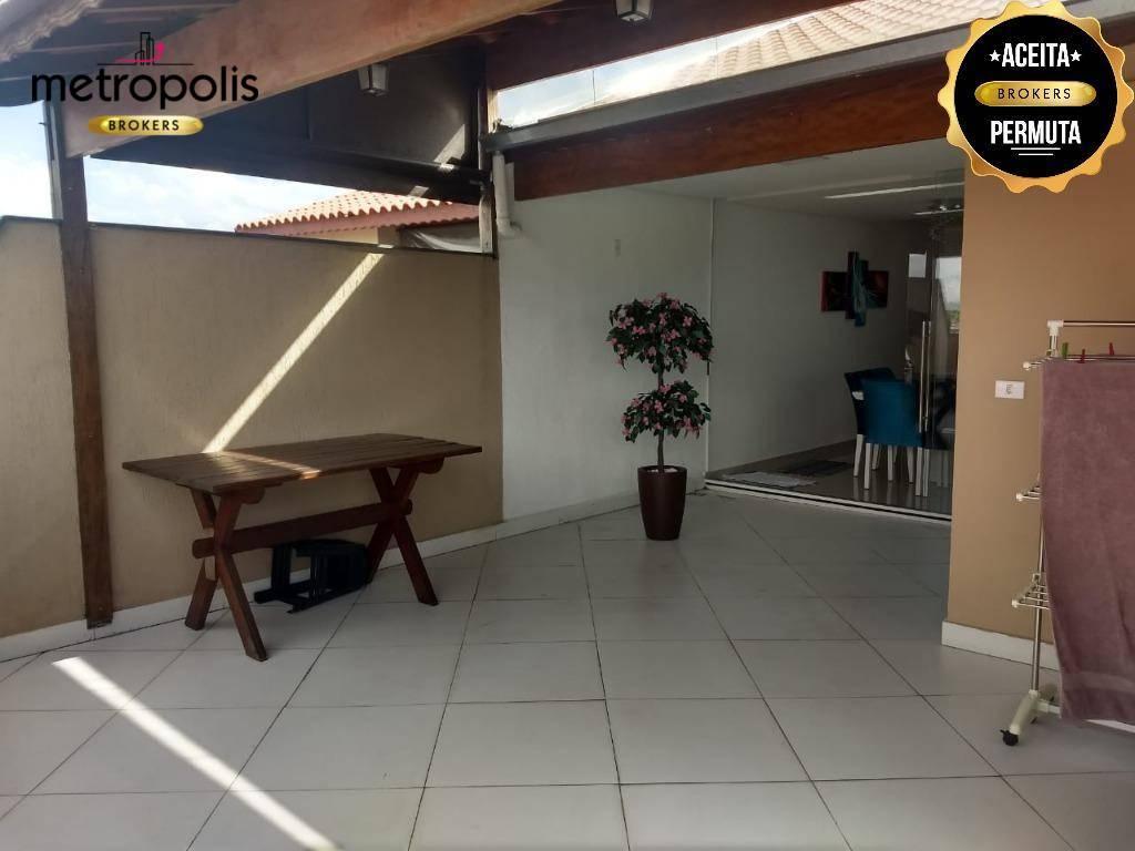 Cobertura à venda, 112 m² por R$ 350.000,00 - Parque Capuava - Santo André/SP