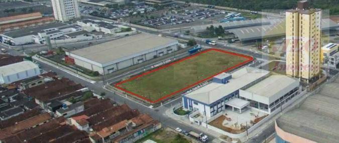 Terreno à venda, 4854 m² por R$ 17.000.000 - Vila Mirim - Praia Grande/SP