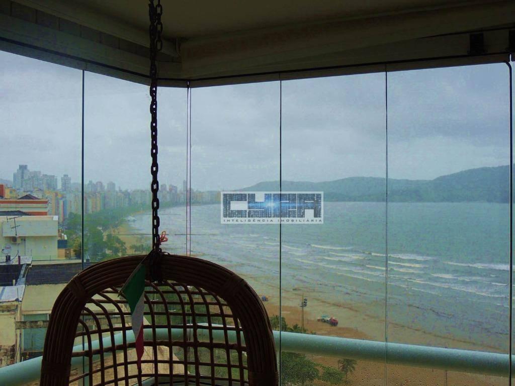 Flat residencial à venda, Boqueirão, Santos - FL0006.