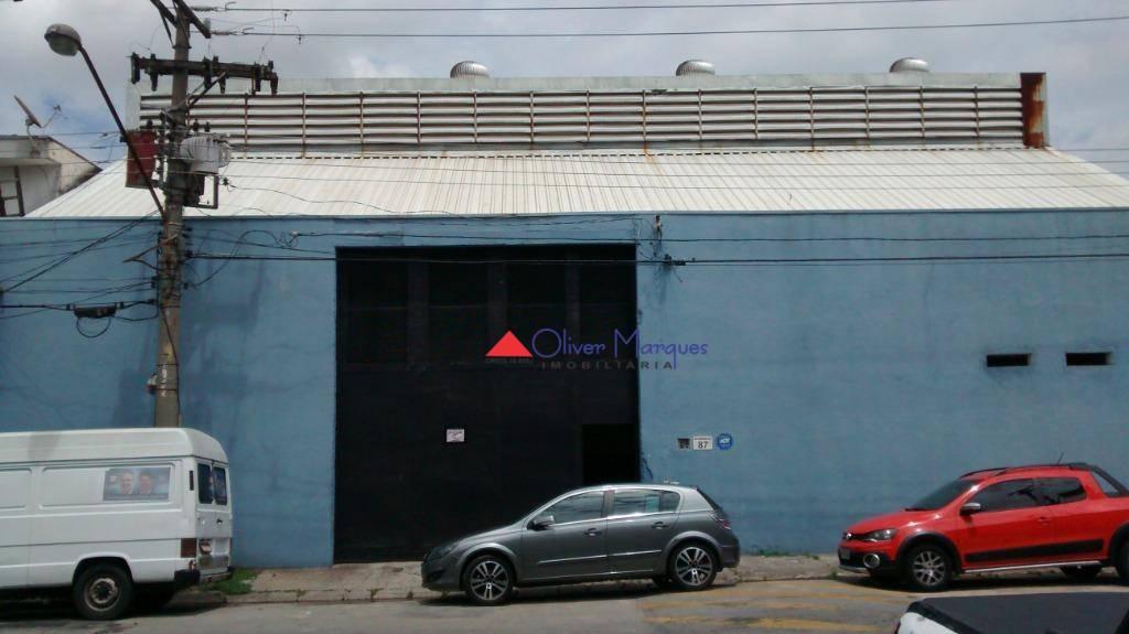 Galpão para alugar, 1050 m² por R$ 15.000/mês - Jardim Piratininga - Osasco/SP