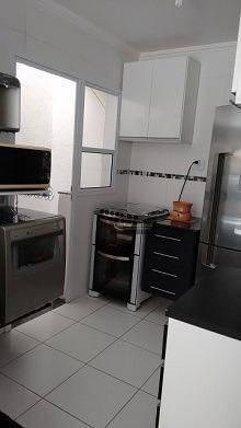 Casa com 2 dormitórios à venda, 115 m² - Vila Scarpelli - Sa