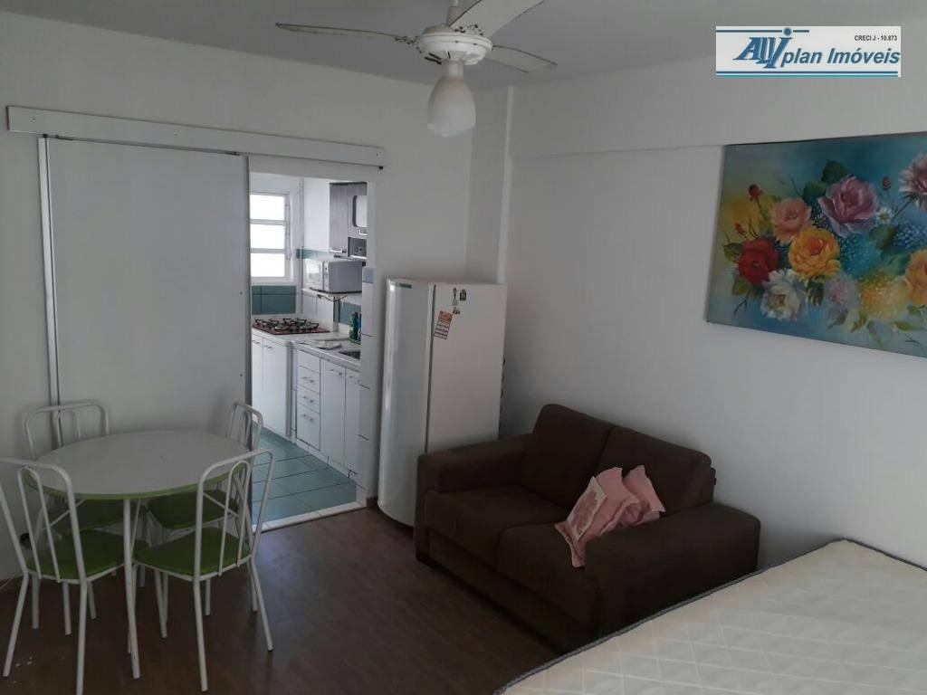 Kitnet com 1 dormitório para alugar, 30 m² por R$ 1.650,00/mês - Gonzaga - Santos/SP