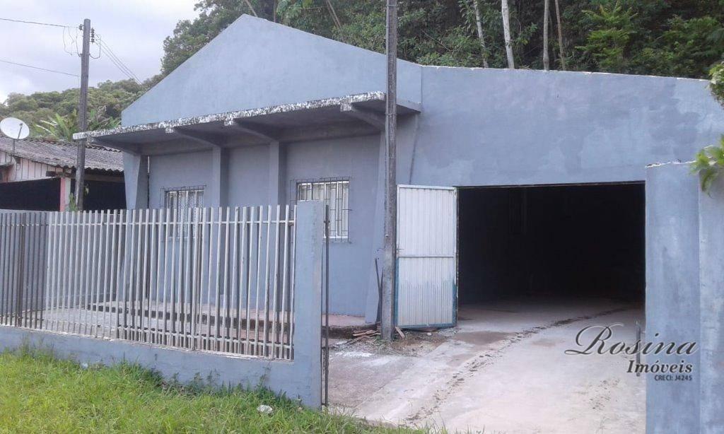 Casa com 2 dormitórios à venda e locação - Porto de Cima - Morretes/PR