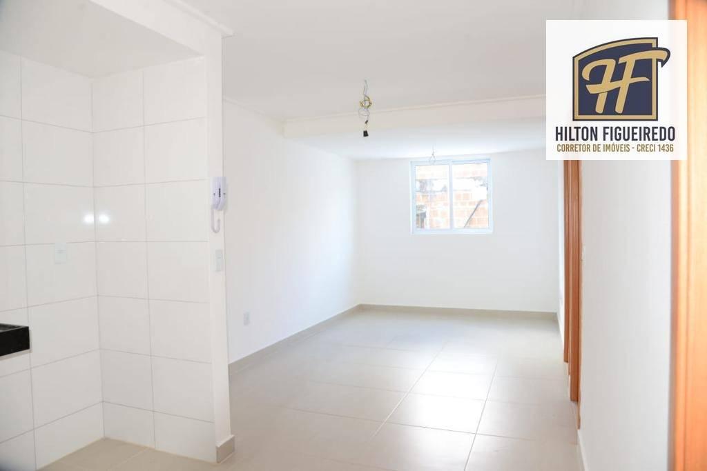 Vendo apartamento 1 quarto, no centro, sla, coz, wsc, 1 vaga. Prox. ao TRE. R$ 125 mil