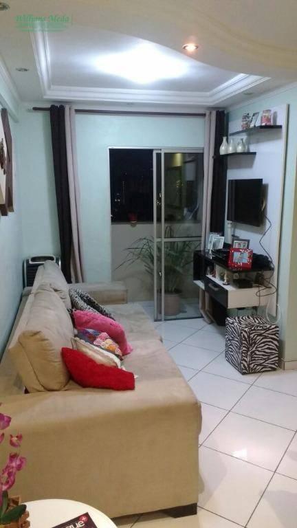 Apartamento 2 dormitórios, 1 vaga - Gopouva