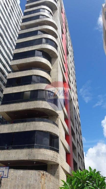 Apartamento  com 4 suites 3 vagas, beira Mar de Piedade para alugar, 246 m² por R$ 4.000/mês - Piedade - Jaboatão dos Guararapes/PE