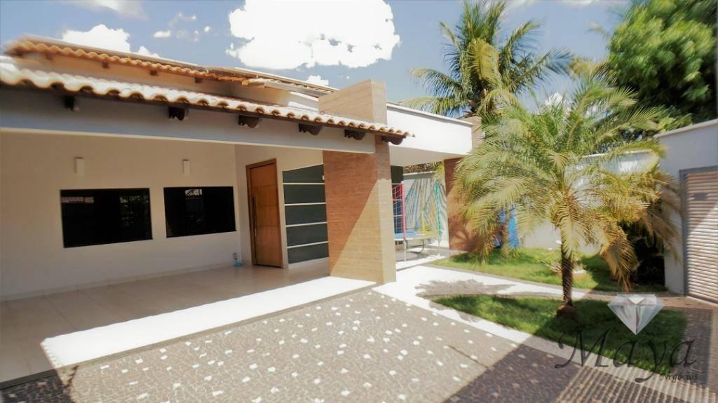 Casa 3 Quartos, 158 m² c/ armários e lazer na 1204 Sul