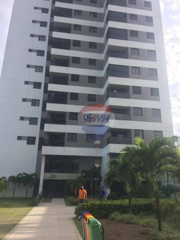 Apartamento com 2 dormitórios para alugar, 64 m² por R$ 2.000,00/mês - Barra de Jangada - Jaboatão dos Guararapes/PE