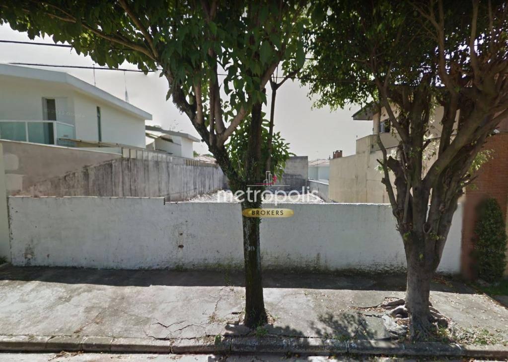 Terreno à venda, 512 m² por R$ 1.170.000 - Jardim São Caetano - São Caetano do Sul/SP