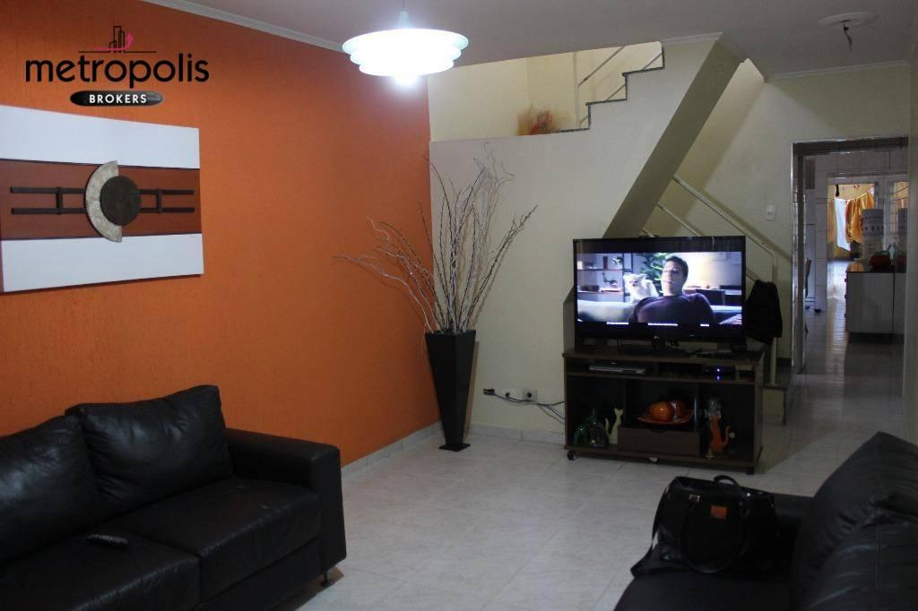 Casa residencial à venda, Nova Gerti, São Caetano do Sul.