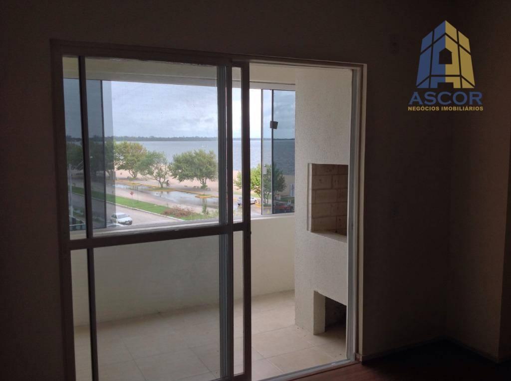 Exclusivo apartamento no Laranjal com vista livre e infinita para a Lagoa dos Patos