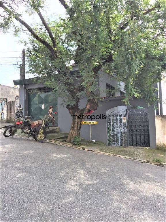 Galpão + 2 Casas com 3 dormitórios à venda, 615 m² por R$ 1.700.000 - Vila Baeta Neves - São Bernardo do Campo/SP