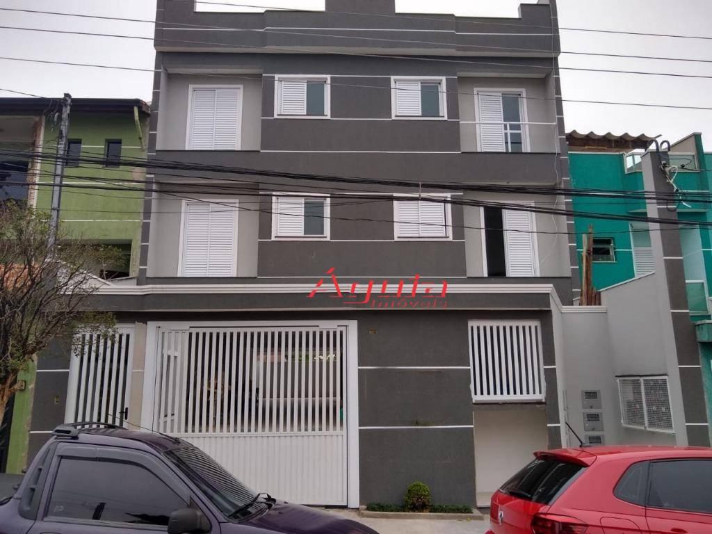 Cobertura com 2 dormitórios à venda, 37 m² por R$ 275.000,00 - Parque Erasmo Assunção - Santo André/SP
