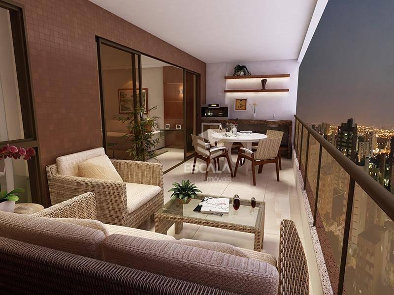 Apartamento com 3 quartos à venda, 162 m², área de lazer, 4 vagas, financia - Aldeota - Fortaleza/CE