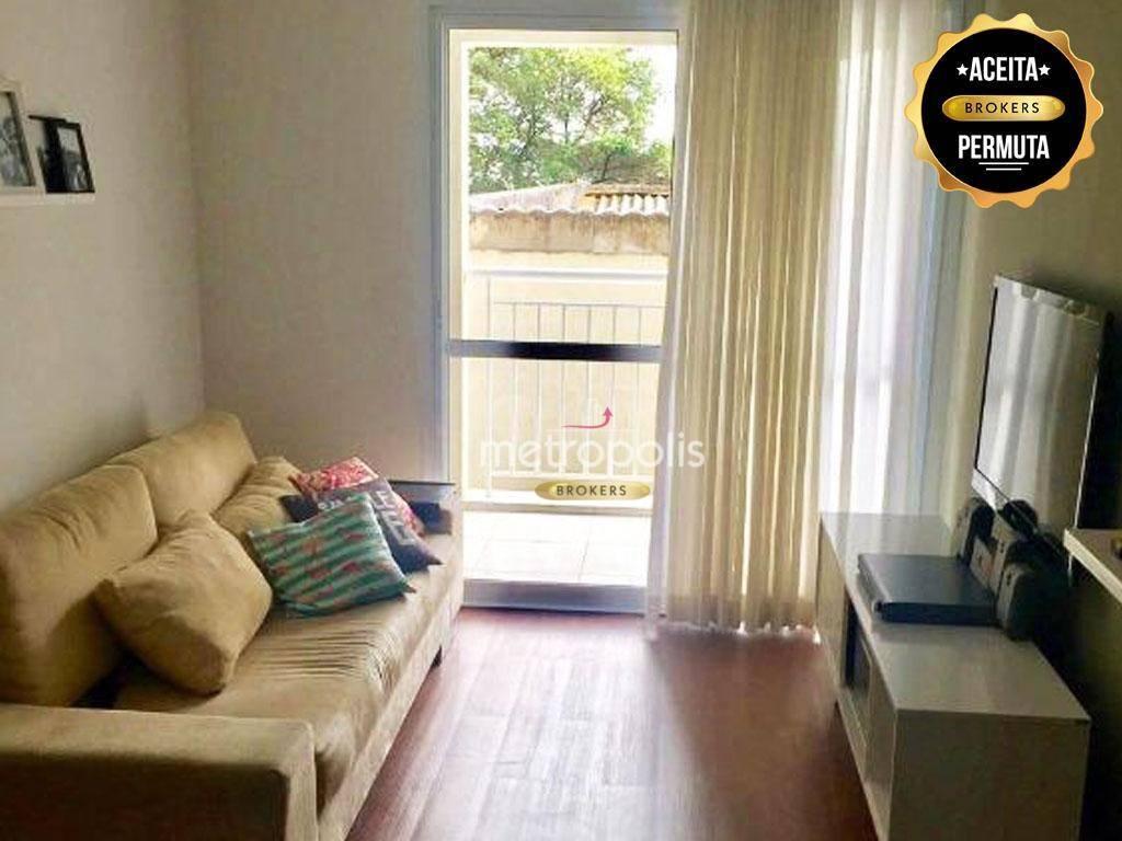 Apartamento à venda, 65 m² por R$ 480.000,00 - Santa Paula - São Caetano do Sul/SP