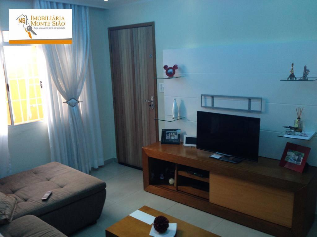 Casa com 3 dormitórios, com 150 m² - Jardim Monte Carmelo - Guarulhos/SP