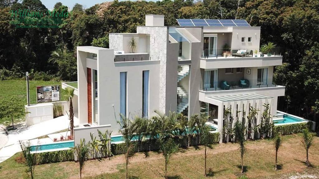 Sobrado de alto padrão, residencial à venda, Riviera de São Lourenço, Bertioga.