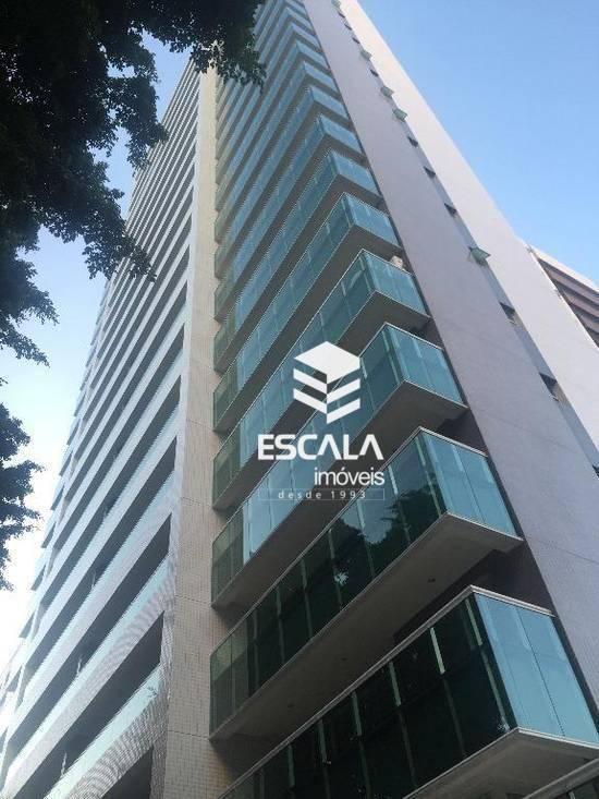 Apartamento com 1 quarto à venda, 52 m² , novo, área de lazer, financia - Meireles - Fortaleza/CE
