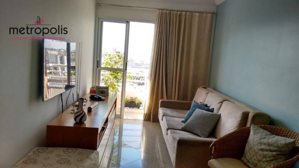 Apartamento residencial à venda, Casa Branca, Santo André - AP0825.