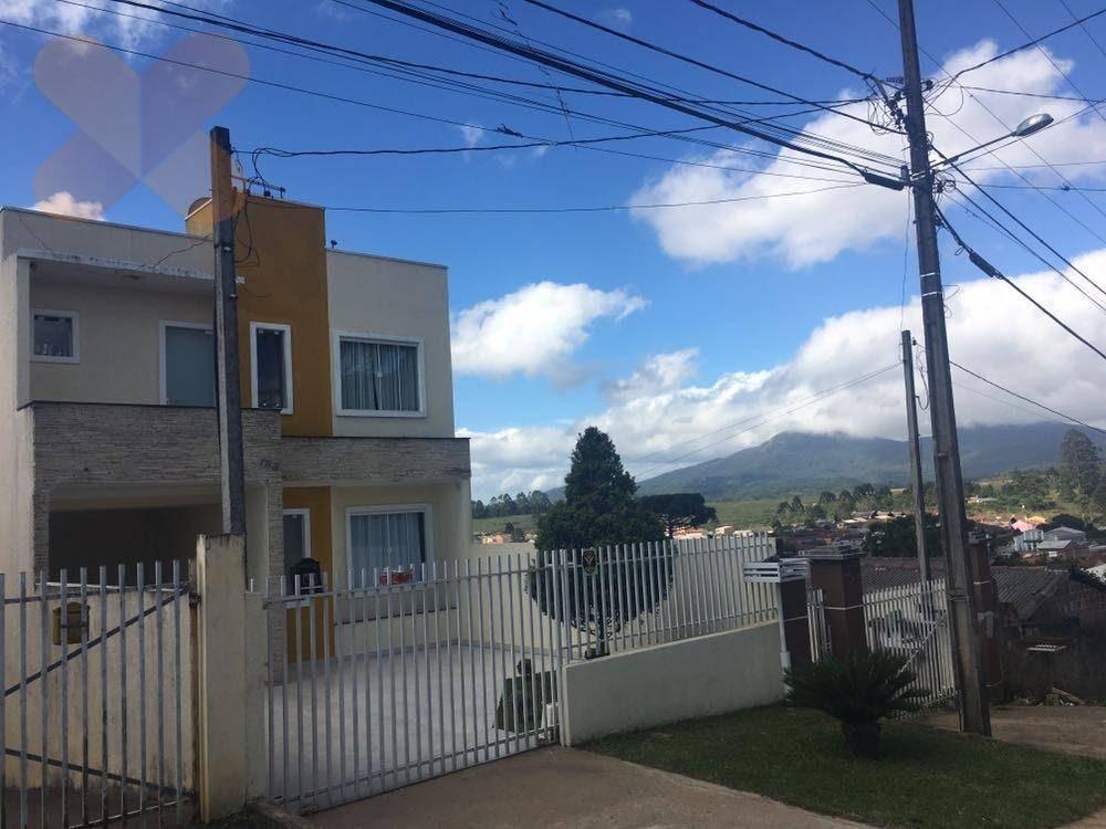 Sobrado residencial à venda, Planta Deodoro, Piraquara.
