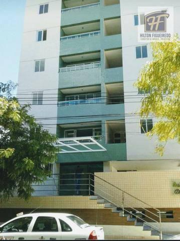 Apartamento com 2 dormitórios para alugar, 60 m² por R$ 1.500/mês - Tambauzinho - João Pessoa/PB