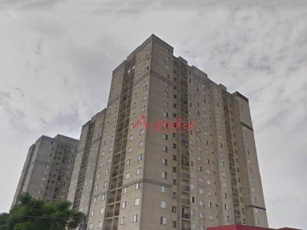 Apartamento com 3 dormitórios à venda, 60 m² por R$ 265.000 - Parque Erasmo Assunção - Santo André/SP