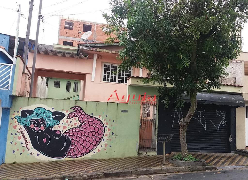 Terreno residencial à venda, Parque Erasmo Assunção, Santo André.