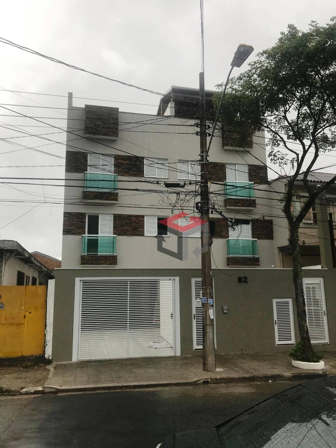 Cobertura de 2 dormitórios à venda em Vila Homero Thon, Santo André - SP