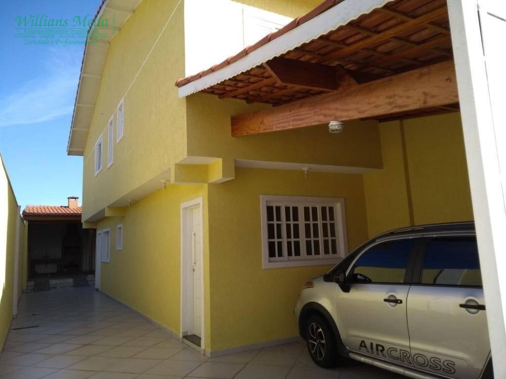 Sobrado residencial para venda e locação, Vila Fátima, Guaru