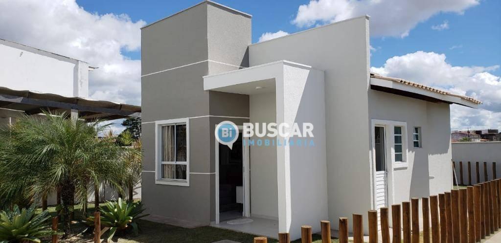 Casa com 2 dormitórios à venda, 41 m² por R$ 109.900 - Papagaio - Feira de Santana/BA