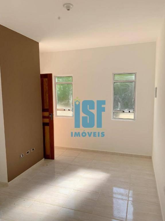 Casa com 2 dormitórios à venda, 53 m² por R$ 180.000 - Jardim Santo Antônio - Atibaia/SP - CA1318.