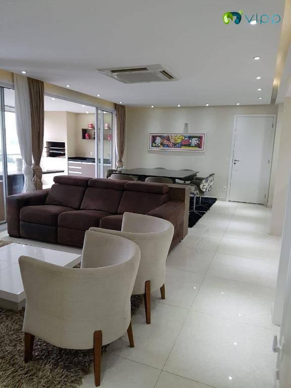 Apartamento com 3 dormitórios à venda, 142 m² por R$ 1.439.000,00 - Vila Leopoldina - São Paulo/SP