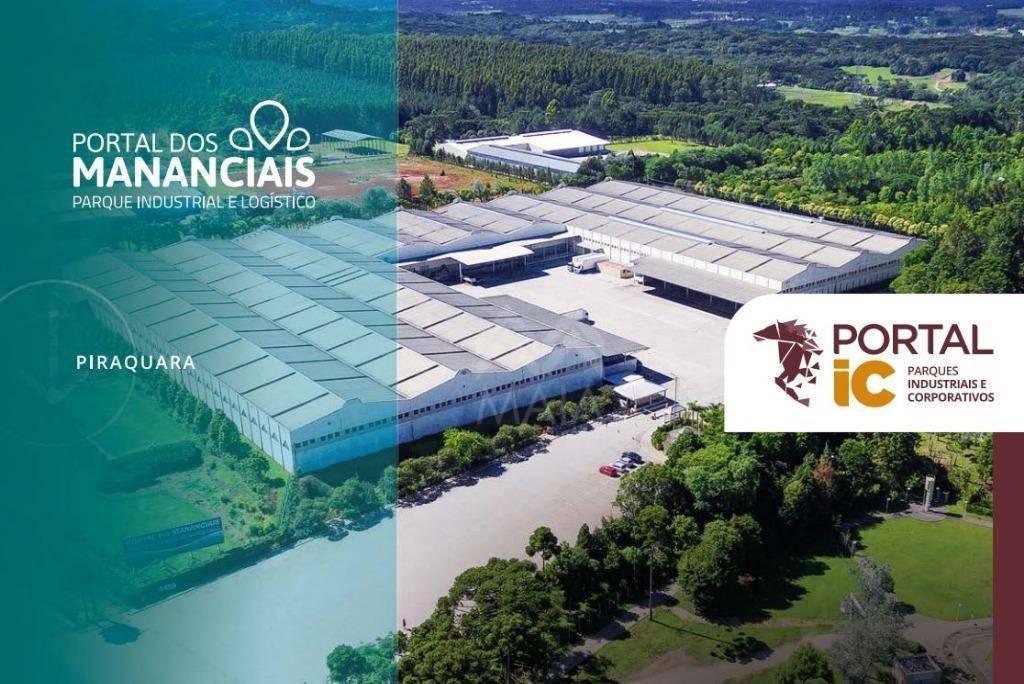 Galpão industrial para locação, Jardim Primavera, Piraquara.