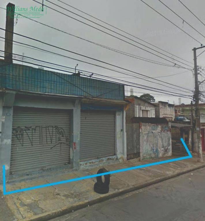 Terreno à venda, 500 m² por R$ 850.000 - Jardim Paraventi - Guarulhos/SP
